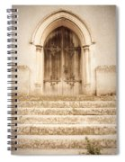 Old Church Door Spiral Notebook