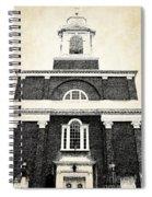 Old Church In Boston Spiral Notebook