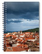 Old City Of Dubrovnik Spiral Notebook