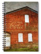 Old Coca Cola Building Spiral Notebook