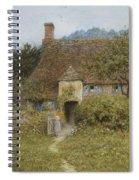 Old Cottage Witley Spiral Notebook