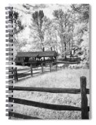 Old Country Saw-mill Spiral Notebook