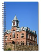 Old Courthouse Powhatan Arkansas 1 Spiral Notebook