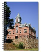 Old Courthouse Powhatten Spiral Notebook