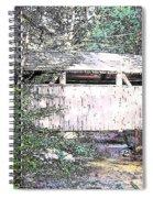 Old Covered Bridge Spiral Notebook