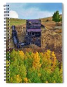 Old Cripple Creek Mine Spiral Notebook