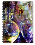 Old Decanters Spiral Notebook