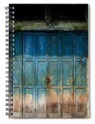 old door in China town Spiral Notebook