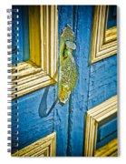 Old Door New Paint Spiral Notebook
