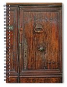 Old Door Study Provence France Spiral Notebook