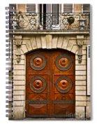 Old Doors Spiral Notebook