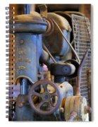 Old Drill Press Spiral Notebook