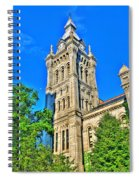 Old Erie County Hall Spiral Notebook