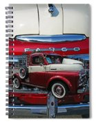Old Fargo Pick Up Truck Spiral Notebook