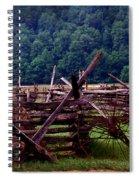 Old Farm Hay Rake Spiral Notebook