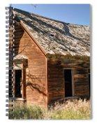 Old Farm Homestead - Woodland - Utah Spiral Notebook