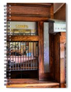 Old Fashion Post Office Spiral Notebook