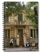 Old Fashioned Hanoi Spiral Notebook