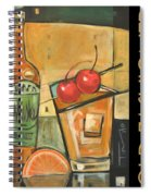 Old Fashioned Poster Spiral Notebook