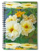 Old Fashioned Yellow Rose - Mirror Box Spiral Notebook