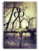 Old Fence Detail Spiral Notebook