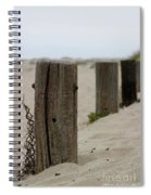 Old Fence Poles Spiral Notebook