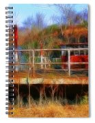 Old Ferry On The Cumberland Spiral Notebook