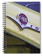 Old Ford Pick-up Spiral Notebook