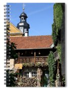 Old Franconian House Spiral Notebook