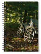 Old Frontier Wagon 1 Spiral Notebook
