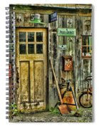 Old General Store Hdr Spiral Notebook