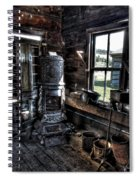 Old Ghost Town Stove - Molson Washington Spiral Notebook