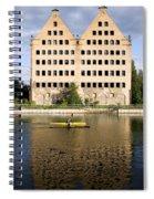 Old Granary In Gdansk Spiral Notebook