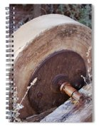 Old Grinding Wheel Spiral Notebook
