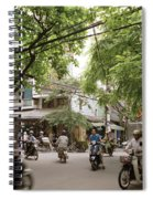 Old Hanoi Life Spiral Notebook