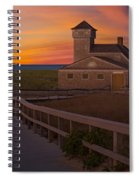 Old Harbor U.s. Life Saving Station Spiral Notebook