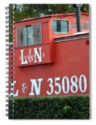Old Helena's L And N Spiral Notebook