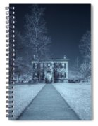 Old  House Infrared Spiral Notebook