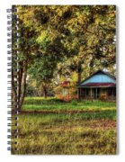 Old House On 98 Spiral Notebook