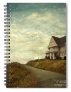 Old House On Rural Road Spiral Notebook