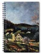 Old Houses In Mogimont Spiral Notebook