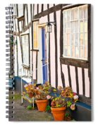 Old Houses Spiral Notebook