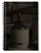 Old Items On A Stone Hearth 2 Spiral Notebook