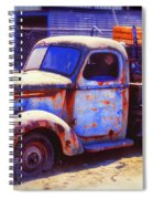 Old Junk Truck Spiral Notebook