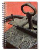 Old Key And Lock Spiral Notebook