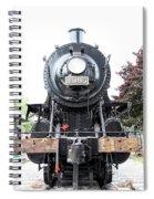 Old Locomotive Spiral Notebook