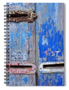 Old Mailboxes Spiral Notebook