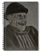 Old Man Laughing Spiral Notebook
