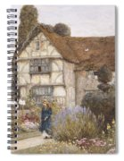 Old Manor House Spiral Notebook