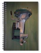 Old Mercury Boat Engine Spiral Notebook